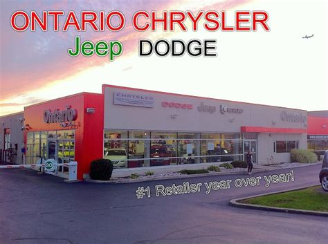 Ontario Dodge Chrysler by Ontario Chrysler Jeep Dodge Ram Chrysler Dodge Jeep