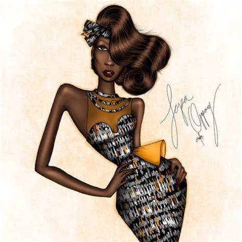 Fashion 91 Nc 1 ankara for yo mama fashion illustration by papa oppong 2015 papaoppong 161 ilustra 231 245 es