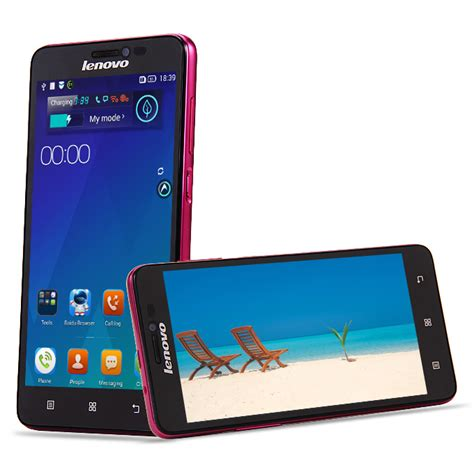Android Lenovo Ram 1gb lenovo s850 mtk6582 5 quot android4 4 smartphone 1gb 16gb hd pink