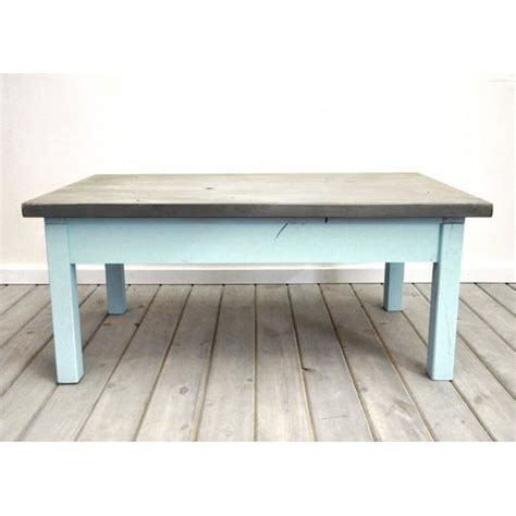 Coastal Coffee Table Dogberry Collections Coastal Silver And Blue Coffee Table