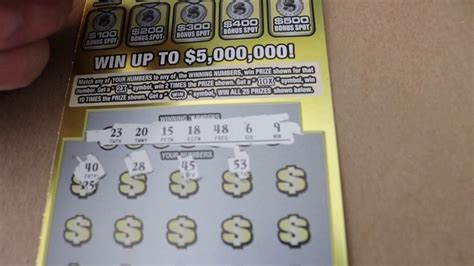 How To Win On Instant Lottery Tickets - new 30 instant lottery scratch off quot million match quot