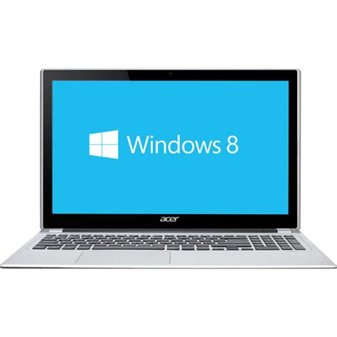 Laptop Acer Windows 8 I5 acer aspire v5 15 6 quot touchscreen laptop silver intel i5 3317u 1tb hdd 8gb ram windows