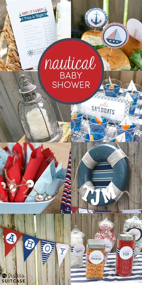 nautical themes baby shower food ideas nautical themed baby shower ideas