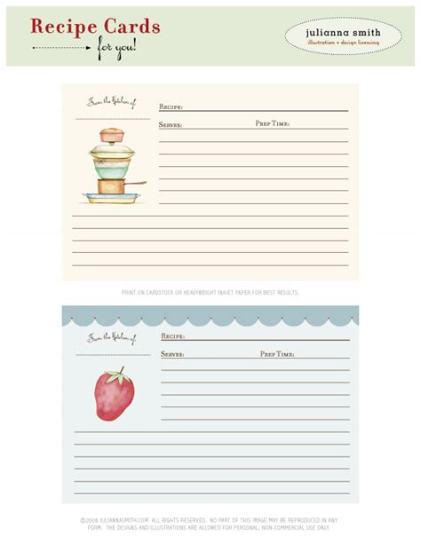 recipe card free download 187 ashleyannphotography com