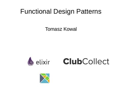 design pattern add functionality very basic functional design patterns