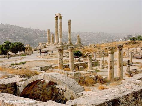 Gateway Floor Plan amman citadel temple of hercules history of jordan in a