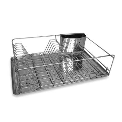 bed bath and beyond dish rack buy stainless steel kitchen rack from bed bath beyond