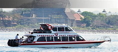 fast boat to lembongan lembongan fast boats fast cruises transfers to