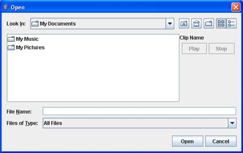 swing file chooser download free simple file chooser exle java software