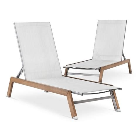 target chaise lounge chairs bryant 2 piece faux wood patio chaise lounge set target