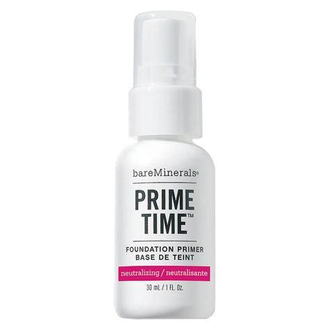 Foundation Merrezca Prime Time Original Foundation Primer prime time neutralising primer bareminerals mecca