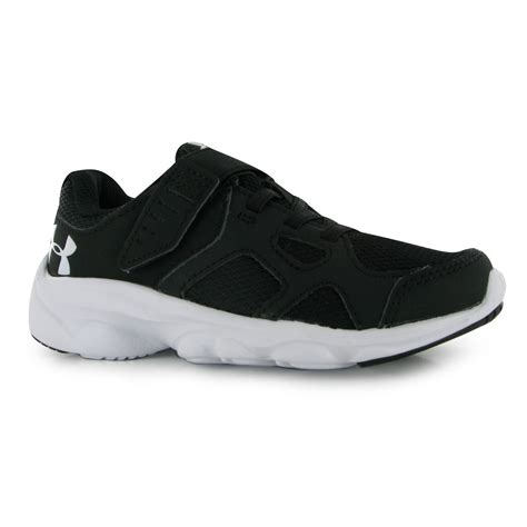 hibbett sports armour shoes armour boys pace running shoes trainers run
