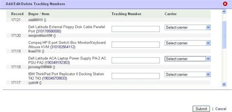 ebay tracking ebay add tracking feature for selected carriers tamebay