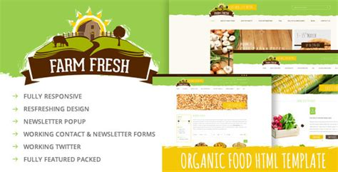 theme wordpress agriculture free farm fresh organic products html template by