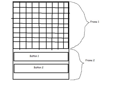 grid layout fill parent user interface how to get the display of 9x9 grid in the