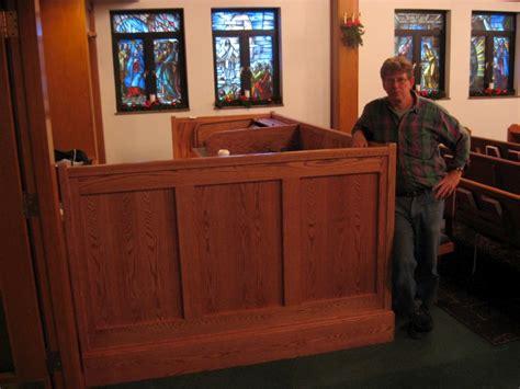 Church Sound Desk by Furniture Steve Downey