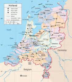 Holland World Map by Netherlands Map