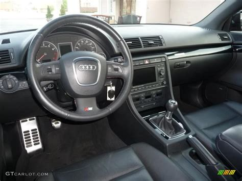 2008 Audi A4 S Line Interior by Black Interior 2008 Audi A4 2 0t Quattro S Line Sedan