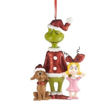 the grinch christmas ornament and stocking cool stuff to