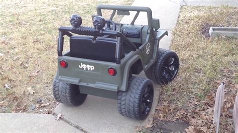 lifted jeep power wheels power wheels jeep conversion to lifted