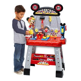 mickey mouse work bench disney mickey and the roadster racers workbench