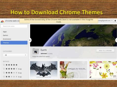 facebook themes download google chrome how to install google chrome theme