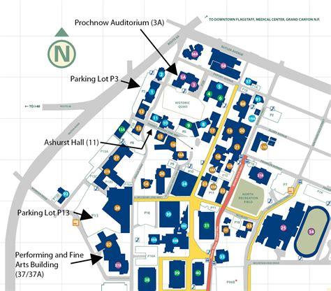 nau map performances school of lyric theater northern arizona