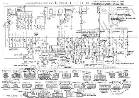 wiring diagram toyota soarer diagram free