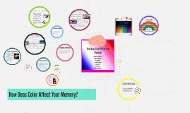 how does color affect memory how does color affect your memory by adrian gutierrez on