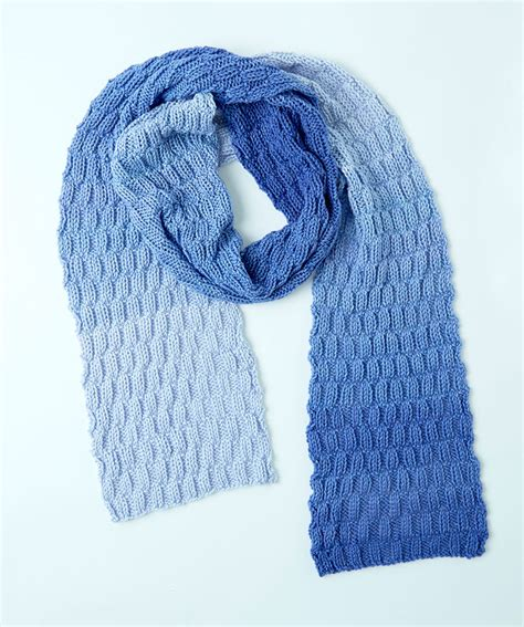 stricken schultertuch basketweave knit scarf