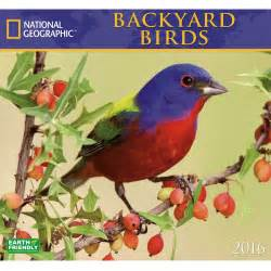 2016 national geographic backyard birds wall calendar