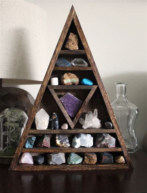 25 best ideas about triangle shelf on rock