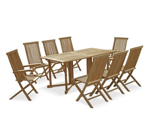 Gateleg Table With Chairs by Shelley 8 Seater Gateleg Garden Table And Chairs Set