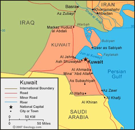 middle east map showing kuwait middle east maps kuwait map world middle east gps