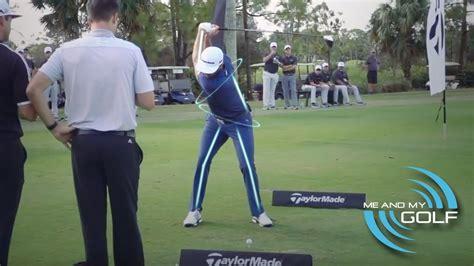 learn golf swing learn from dustin johnson golf swing
