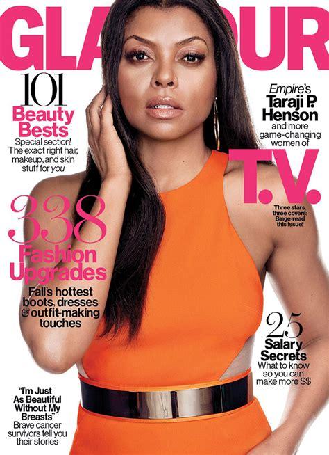 2015 w magazine cover october taraji p henson lands glamour october 2015 cover