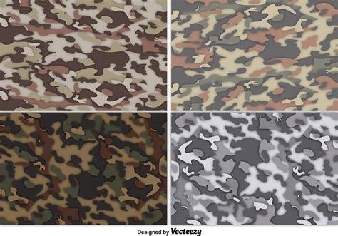 uniform pattern background vector multicam camouflage background set download free