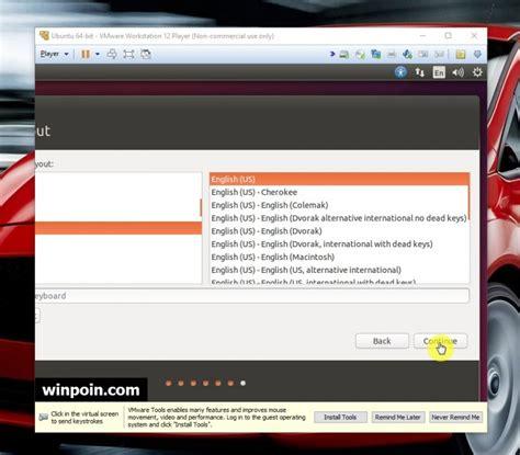 tutorial install ubuntu di vmware cara install ubuntu linux di vmware beserta gambar winpoin