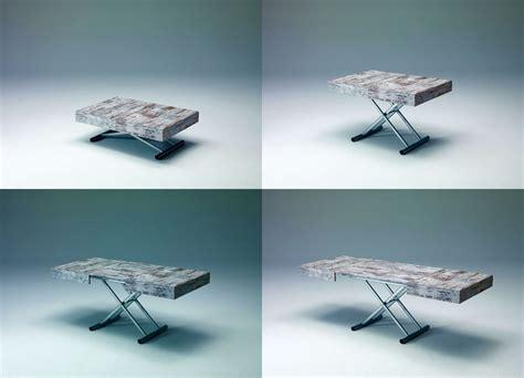 meccanismo tavolo allungabile tavolino trasformabile con meccanismo a gas allungabile