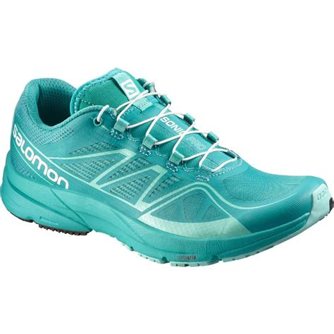 teal running shoes salomon sonic pro w s running shoe teal blue f