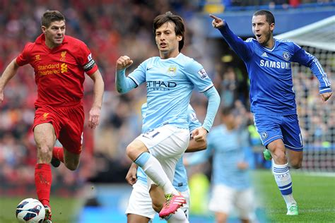 epl best players epl 100 ranking the top 100 players of the 2013 14