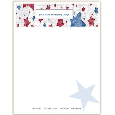 10 Patriotic Templates For Ms Word Perfect For July 4th Memorial Day And More American Flag Invitation Template