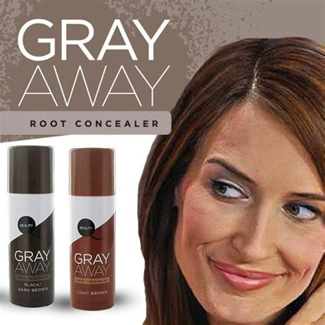 gray away root concealer gray away hair dye as seen on jc hair care jchaircare com