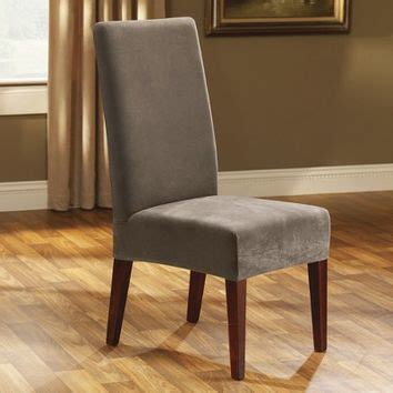 sure fit stretch pique short dining chair slipcover shop dining chair slipcovers on wanelo