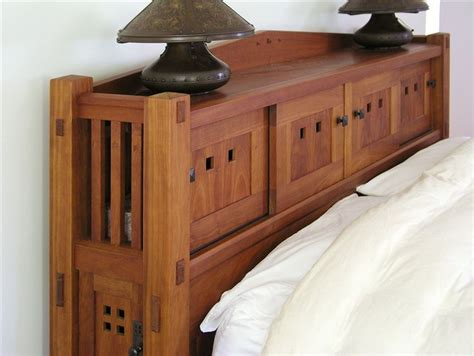 mission style king size headboard custom bedroom furniture maine furniture makers luxury