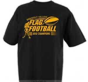 flag football football t shirt designs