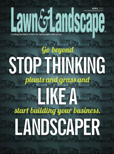 lawn and landscape magazine highgrove hits the cover of lawn landscape magazine
