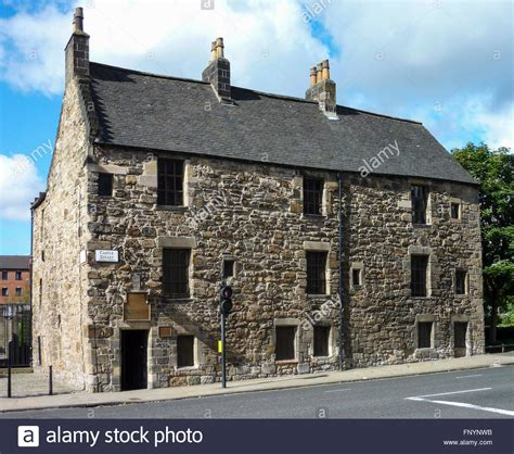 buy house in glasgow provand s lordship the oldest house in glasgow stock