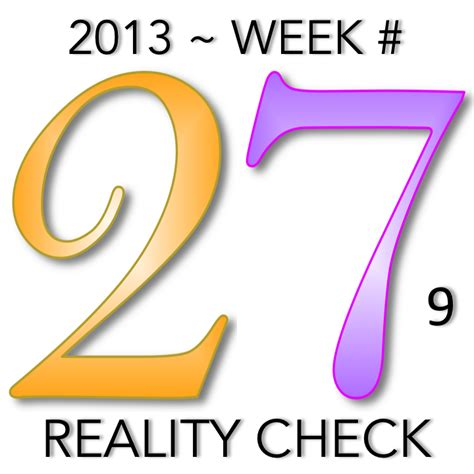 new year s creative numerology week 27 reality check creative numerology by christine