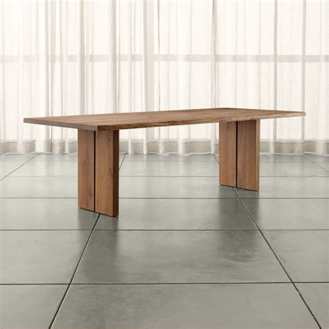 dining room tables crate and barrel dakota dining tables crate and barrel